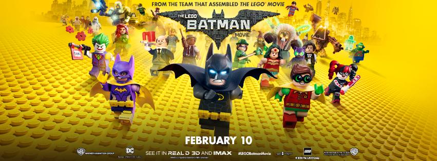 Lego Batman Movie Poster