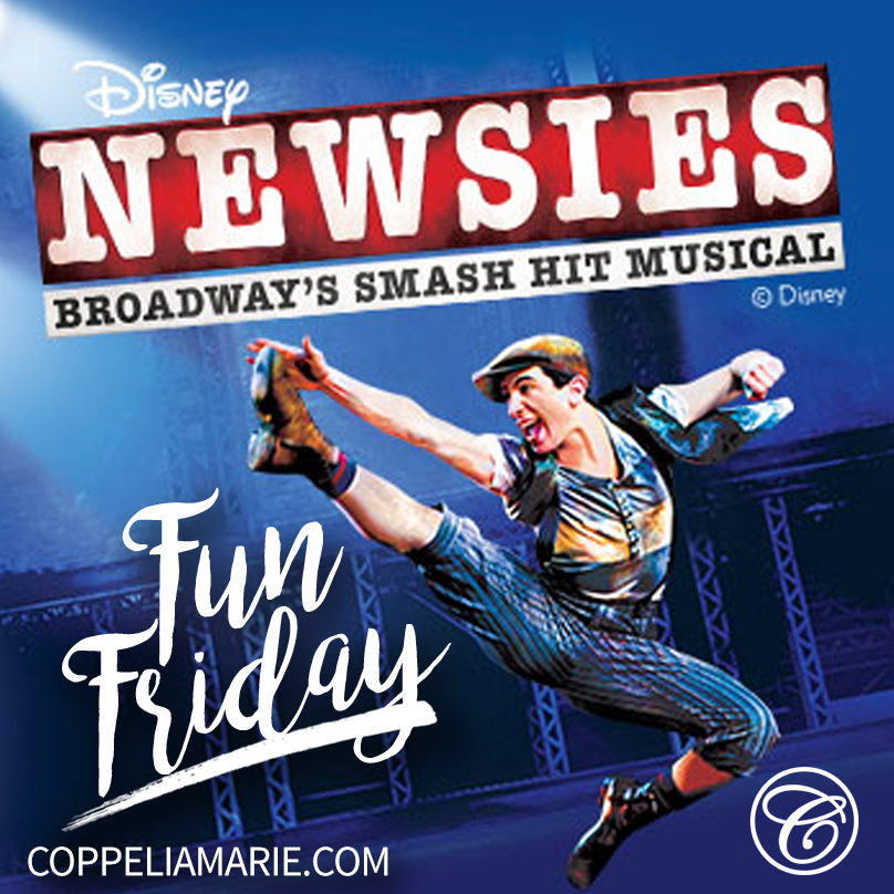 Disney's Hit Musical Newsies in Theatres!