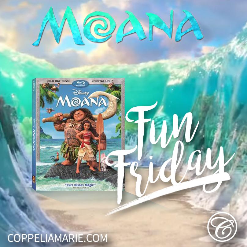 Fun Friday Disney's Moana Giveaway