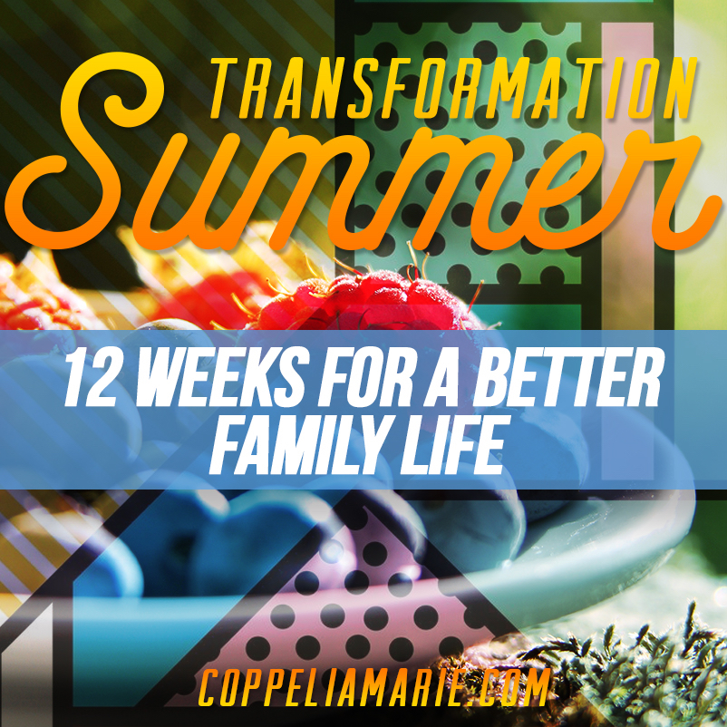 Transformation Summer 12 weeks to better family life