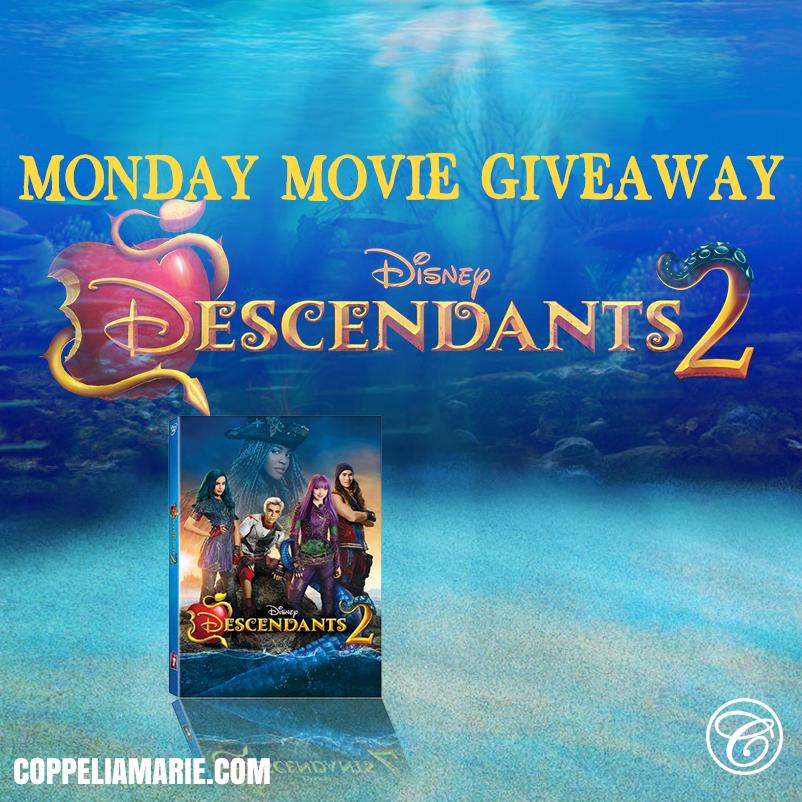 Descendants 2 Monday Movie GIveaway