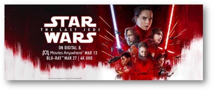 Star Wars The Last Jedi Giveaway