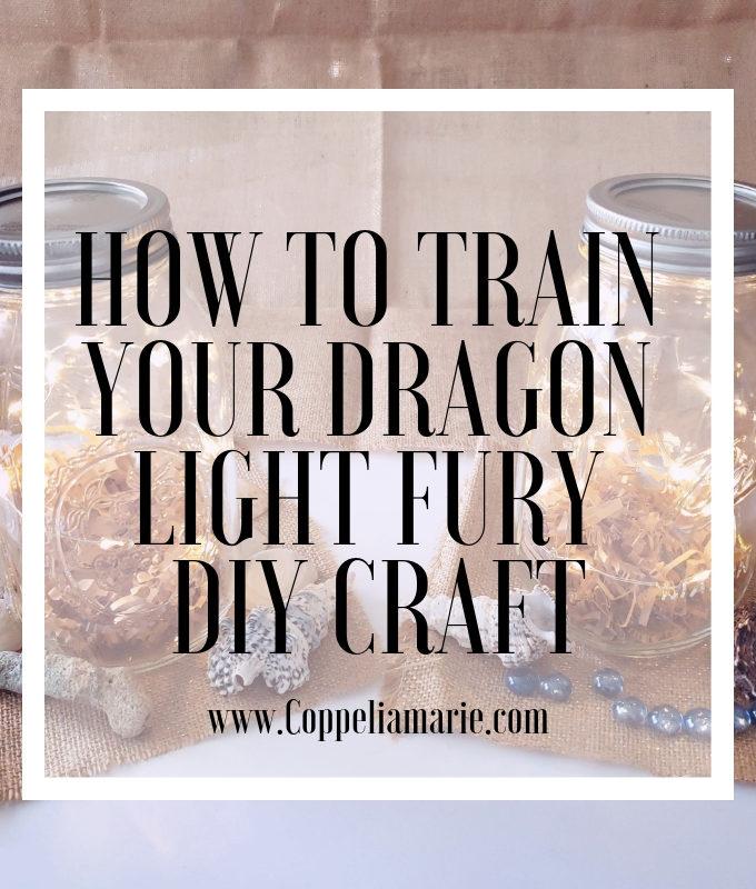 How to Train Your Dragon Light Fury DIY Craft