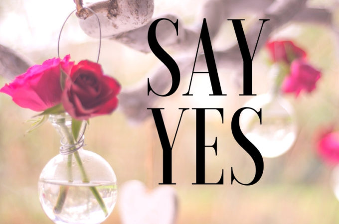 Say Yes 28 Day Challenge