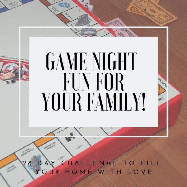 Have Fun with Game Night