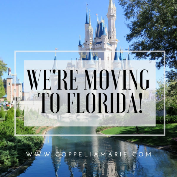 We're moving to FLORIDA!