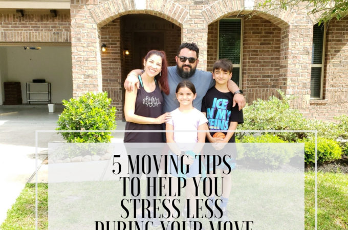 5 Moving Tips to Help You Stress Less During Your Move