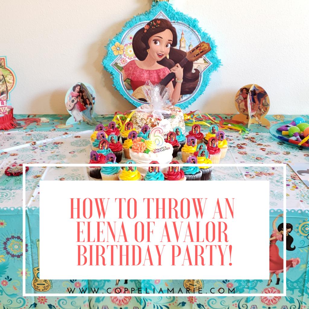 Disney's Elena of Avalor Birthday Party