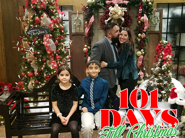 101 Days till Christmas Day 100 Family Holiday Plan