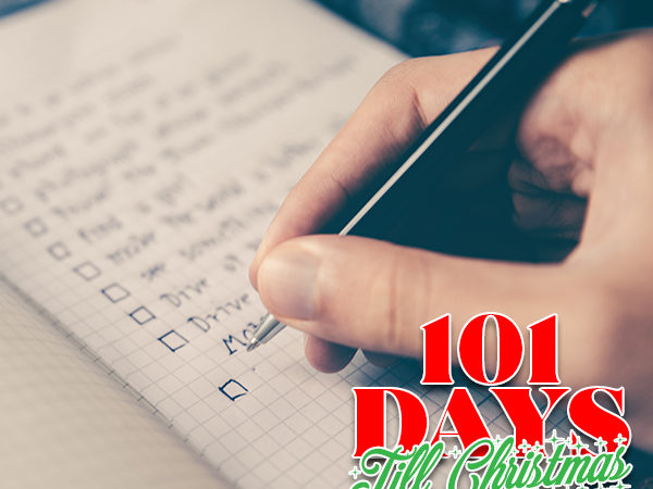 101 Days till Christmas Day 85 Holiday Checklist for time crunched moms