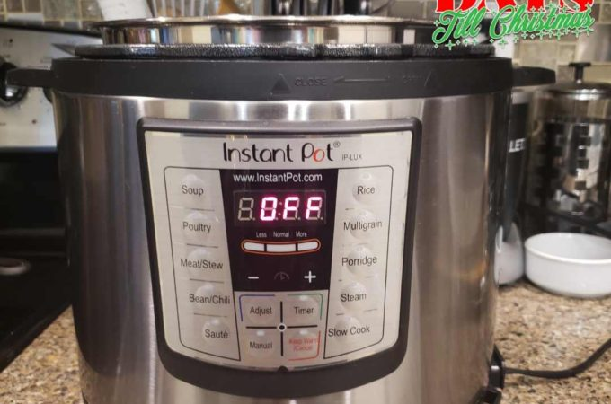 101 Days till Christmas Day 63 One Week of Instant Pot Fall Dinners