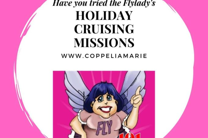 101 Days till Christmas Day 66 Flylady Holiday Cruising Missions