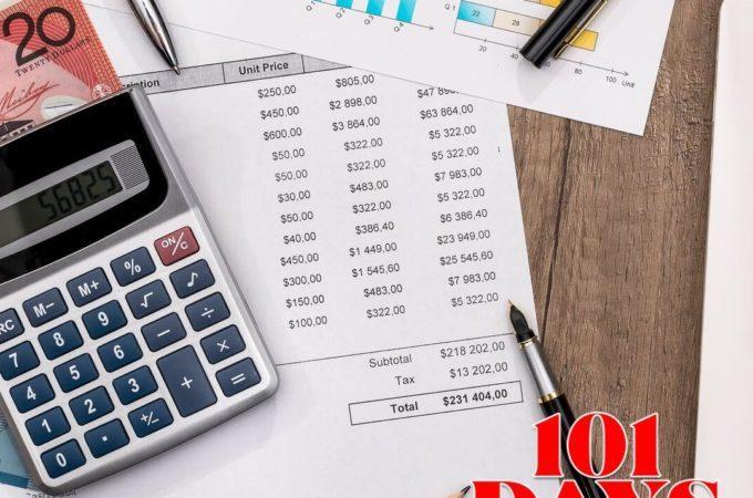 101 Days till Christmas Day 79 Christmas Budget printables
