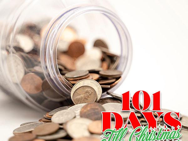 101 Days till Christmas Day 80 Christmas budget