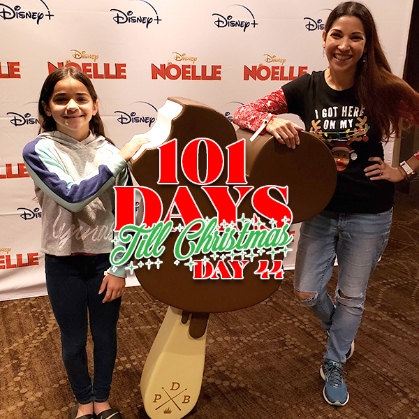 101 Days till Cbristmas Day 44 Disney+ movie Noelle