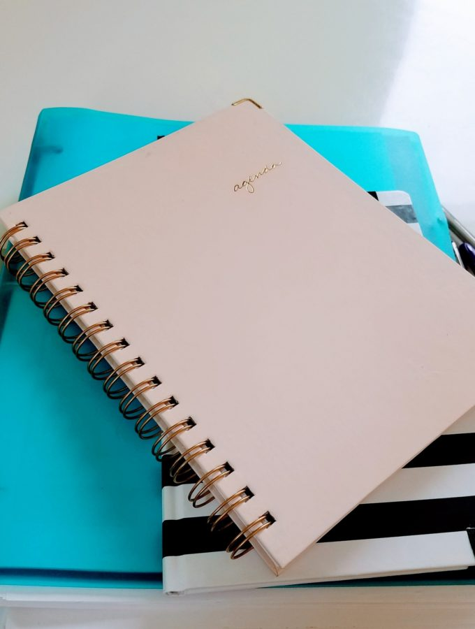 Agenda, planners and notebooks oh my!